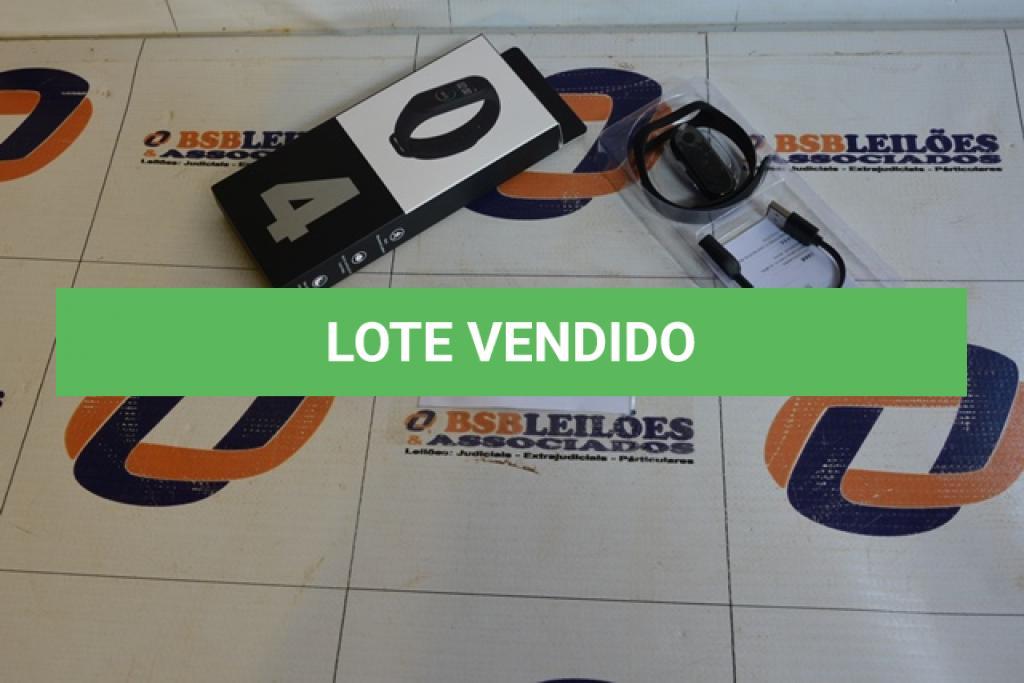 LOTE 010 - 01 SMART BRACELETE M 4. (NO ESTADO)