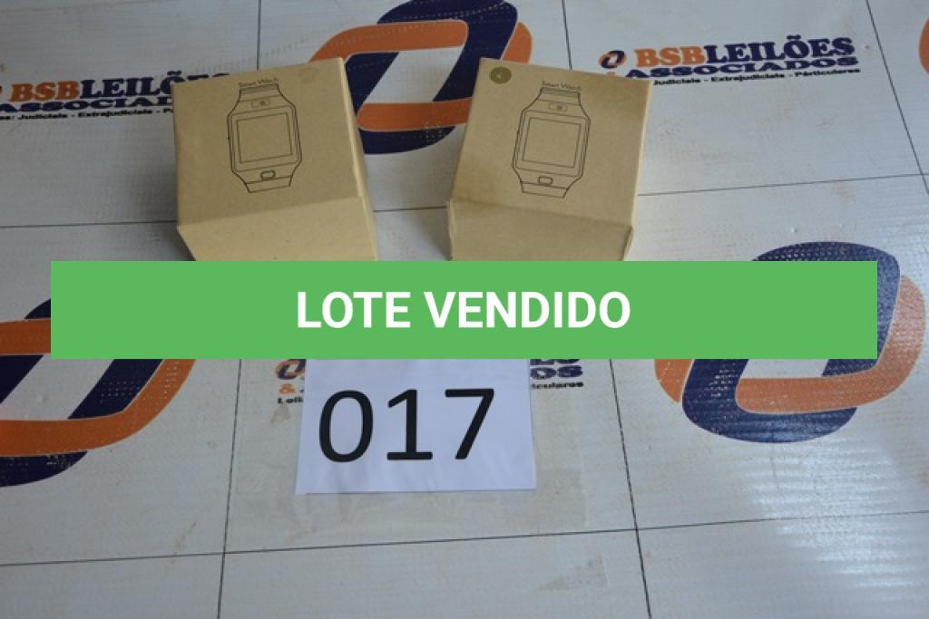LOTE 017 - 02 RELÓGIOS SMART WATCH COM O VISOR NA COR ROSE, SENDO 01 COM AVARIAS. (NO ESTADO)