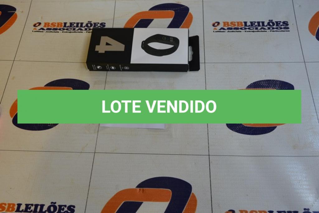 LOTE 013 - 01 SMART BRACELETE M 4. (NO ESTADO)
