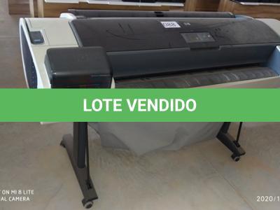 LOTE 088 - 01 LOTE DE PLOTTER MARCA HP MODELO DESIGNJET T1200. (NO ESTADO)