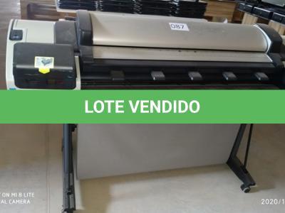 LOTE 087 - 01 LOTE DE PLOTTER MARCA HP MODELO DESIGNJET T2300. (NO ESTADO)